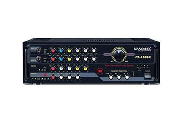 Amply Karaoke Nanomax PA 1000X