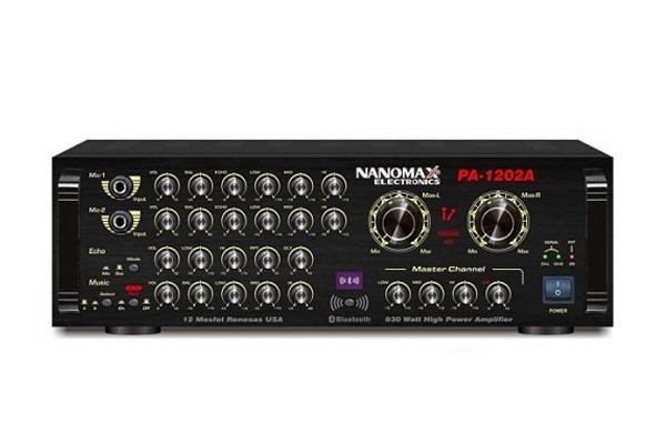Amply Karaoke Nanomax PA 1203A