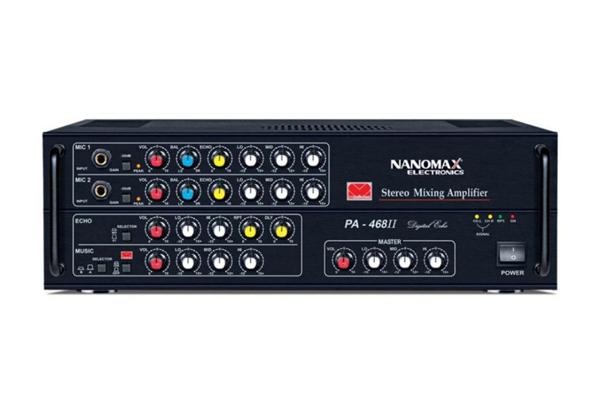 Amply Karaoke Nanomax PA 468II