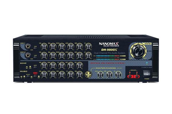 Amply karaoke Nanomax DH 9800X
