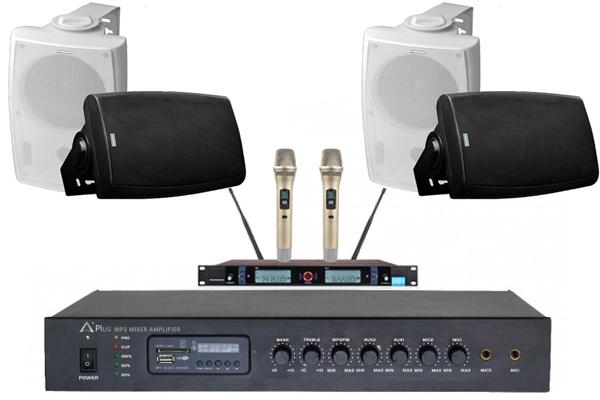 Combo dàn âm thanh phòng họp diện tích 50m2