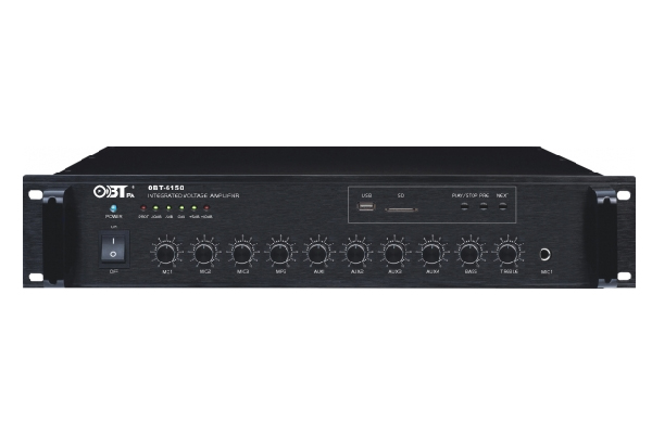 Amply liền mixer OBT 6150