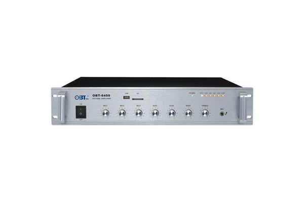 Amply liền mixer OBT 6450