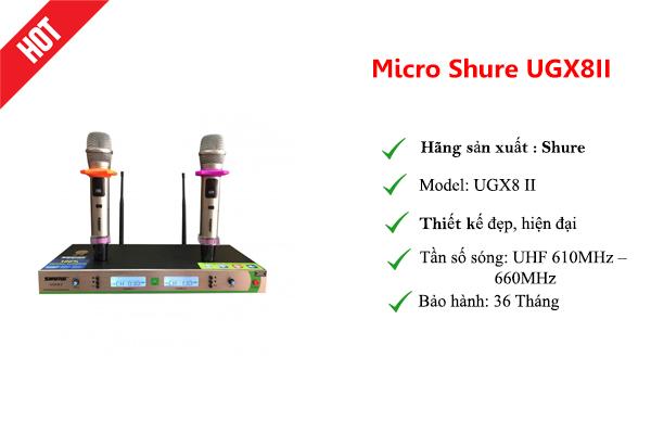 Micro Shure UGX8II