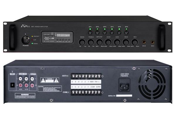 Amply liền mixer Aplus AS-6Z650