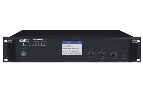Amply liền mixer kết nối mạng OBT NP6090