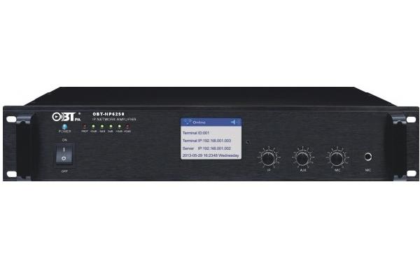 Amply liền mixer kết nối mạng OBT NP6350