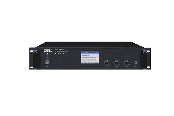 Amply liền mixer kết nối mạng OBT NP6550