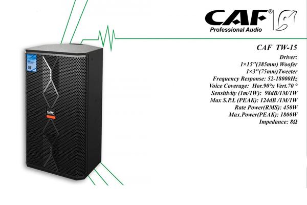 Loa karaoke CAF TW-15