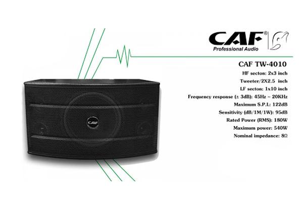 Loa Karaoke CAF TW- 4010