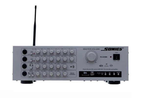 Amply Arirang PA-203WM ( 2 mic )