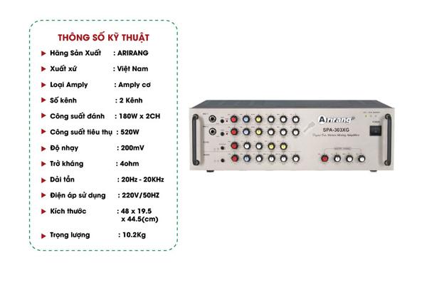Amply Arirang SPA-303XG