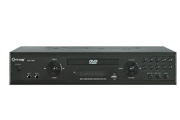 Đầu karaoke Arirang DVD AR-36NR (kèm 2 mic)