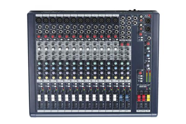 Bàn trộn mixer soundcraft MPMi12