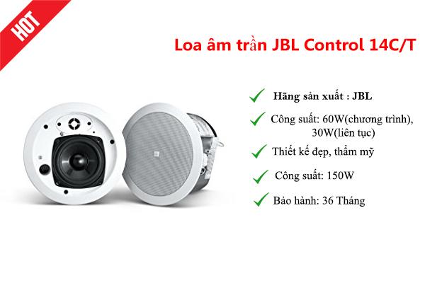 Loa âm trần cao cấp JBL Control 14CT