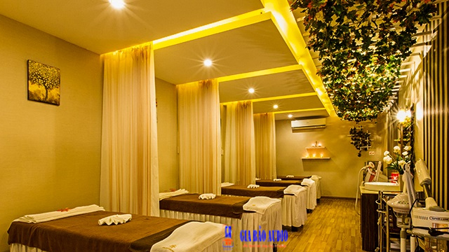 am thanh spa